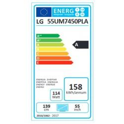 55um7450pla energie