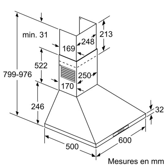 Dww06w450 dimensions