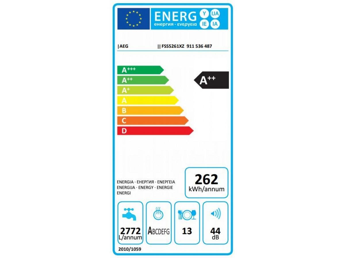 Fss5261xz energie