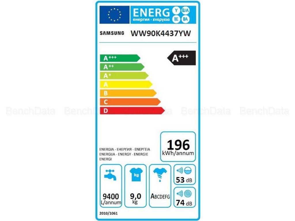 Ww90k4437yw energie