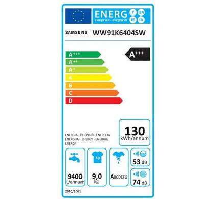 Ww91k6404qw energie