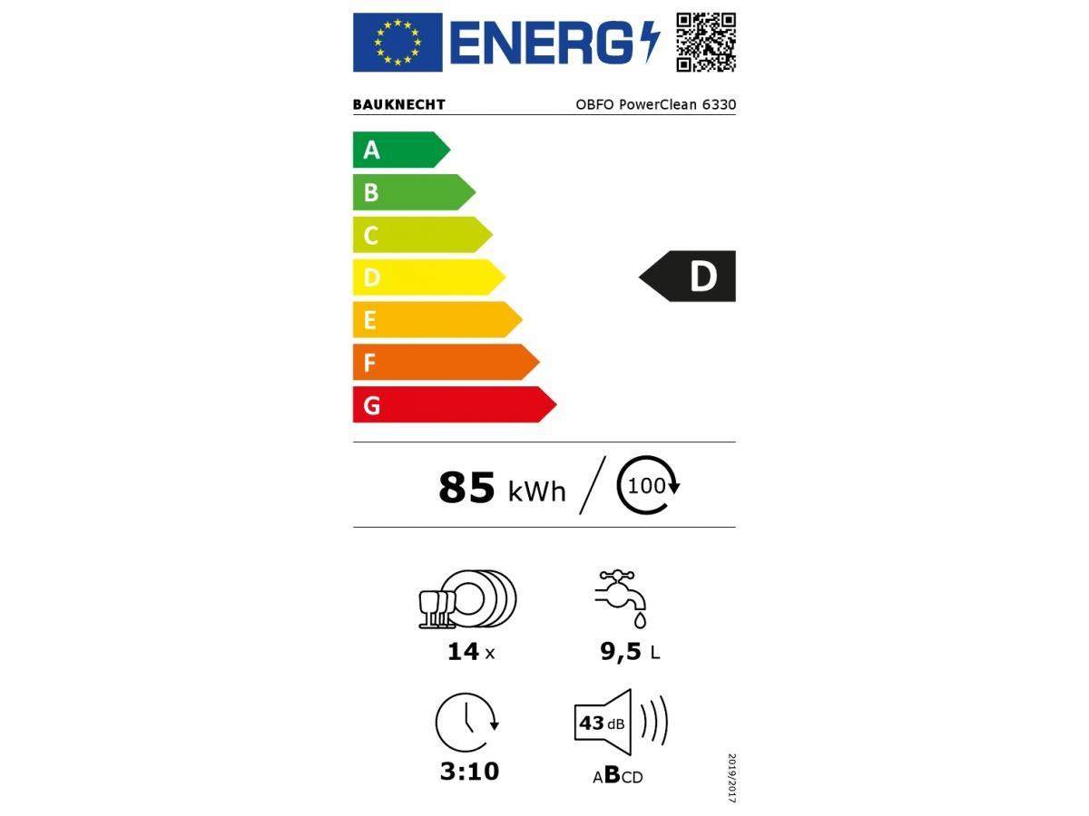 Obfo powerclean 6330 energie