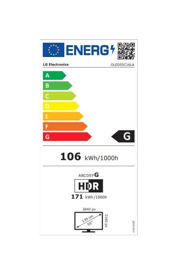 Oled55c16la energie