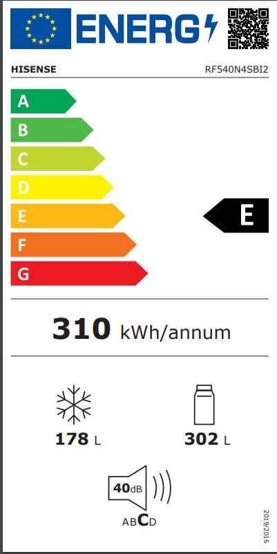 Rf540n4sbi2 energie