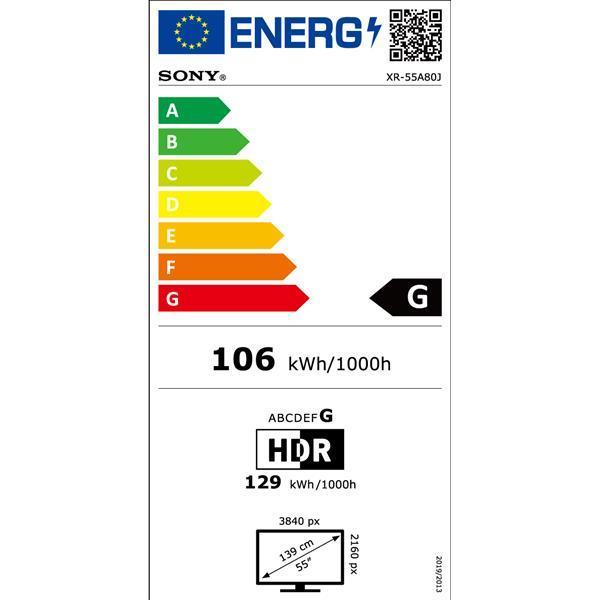 Xr55a80jaep enegie